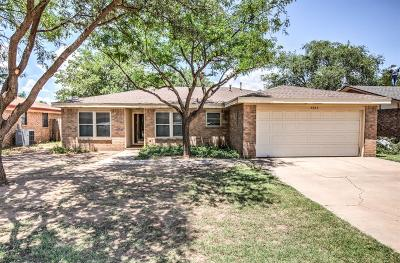 Lubbock Single Family Home For Sale: 5924 16th Street