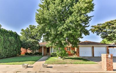 Lubbock Single Family Home For Sale: 5729 68th Street