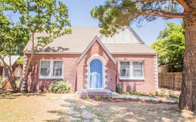 Lubbock Single Family Home Under Contract: 2112 14th Street
