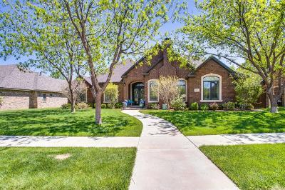 Lubbock Single Family Home For Sale: 10607 Oxford Avenue