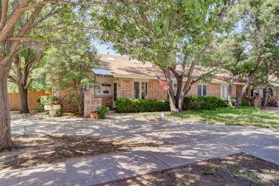 Lubbock Townhouse For Sale: 3201 61st Street