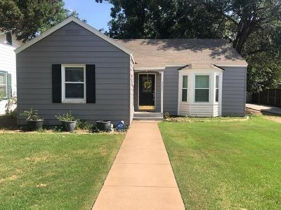 Lubbock TX Single Family Home For Sale: $182,500