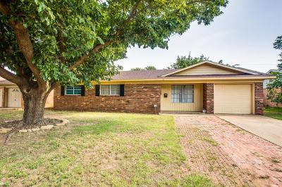 Lubbock Single Family Home For Sale: 5315 46th Street