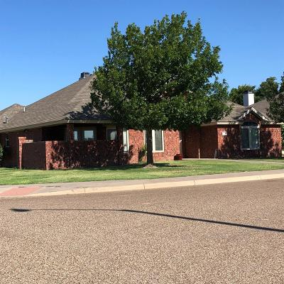 Lubbock Single Family Home Under Contract: 9810 Grover Avenue