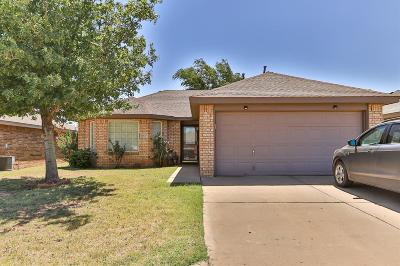 Lubbock TX Single Family Home For Sale: $124,500