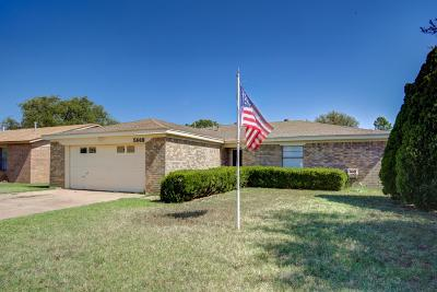 Lubbock Single Family Home For Sale: 5918 16th Street