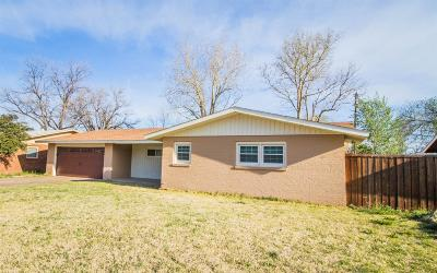 Lubbock Single Family Home For Sale: 4310 39th Street