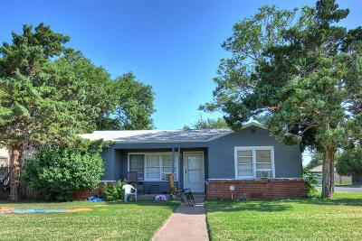 Lubbock Single Family Home Under Contract: 1502 39th Street