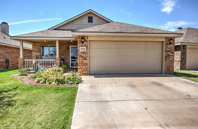 Lubbock Single Family Home For Sale: 5525 109th Street