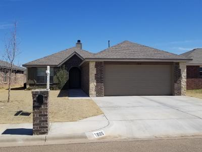 Lubbock Single Family Home For Sale: 7905 Ave N
