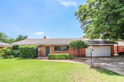 Lubbock Single Family Home For Sale: 2207 59th Street