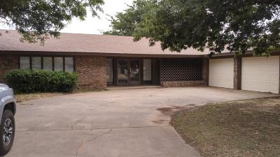 Lubbock Single Family Home For Sale: 3402 74th Street