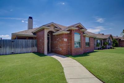 Lubbock Single Family Home Under Contract: 5903 103rd Street