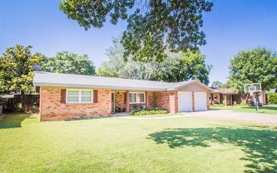 Lubbock Single Family Home For Sale: 3415 62nd