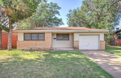 Lubbock Single Family Home For Sale: 2805 53rd Street