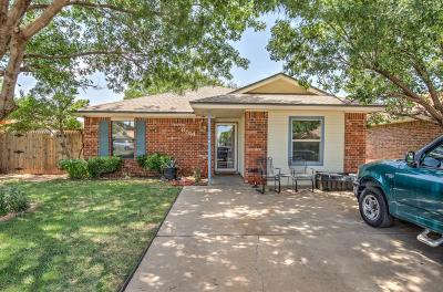 Lubbock Single Family Home For Sale: 8514 Ave X