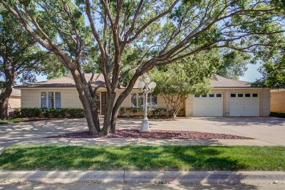 Lubbock Single Family Home For Sale: 5407 88th Street
