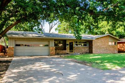 Lubbock Single Family Home For Sale: 2718 55th Street