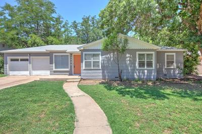 Lubbock Single Family Home For Sale: 3204 31st Street
