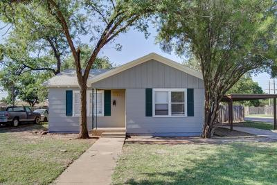Lubbock Single Family Home For Sale: 2721 40th Street