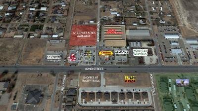 Lubbock Commercial Lots & Land For Sale: 8002 Pontiac
