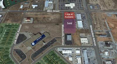 Lubbock Commercial Lots & Land For Sale: 6501 66th
