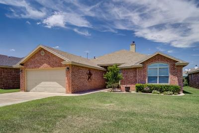 Lubbock Single Family Home For Sale: 5728 107th Street