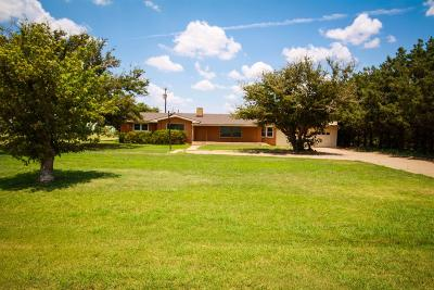 Lubbock Single Family Home For Sale: 3702 Farm Road 1294