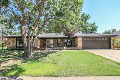Lubbock Single Family Home For Sale: 5711 70th Place