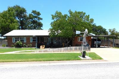 Bailey County, Lamb County Single Family Home For Sale: 917 E Gum