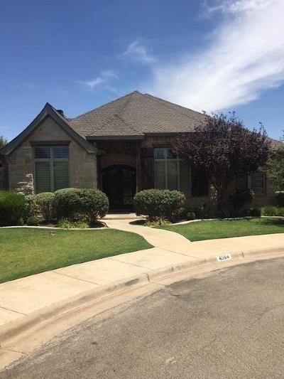 Lubbock Garden Home Under Contract: 4504 99th Street