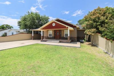 Muleshoe TX Single Family Home For Sale: $92,500