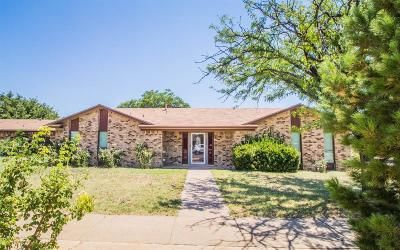 Lubbock Single Family Home For Sale: 5602 Amherst Street