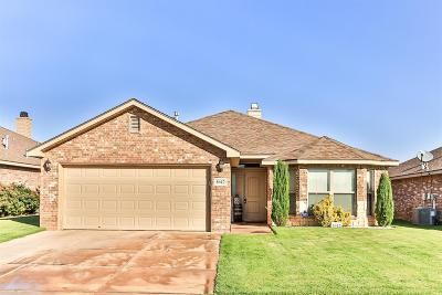 Lubbock TX Single Family Home For Sale: $184,950