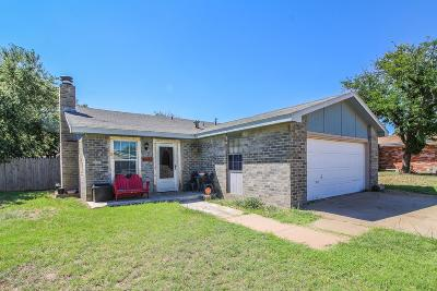 Lubbock TX Single Family Home For Sale: $129,000