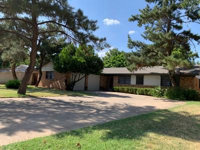 Lubbock Single Family Home For Sale: 3602 59th Street