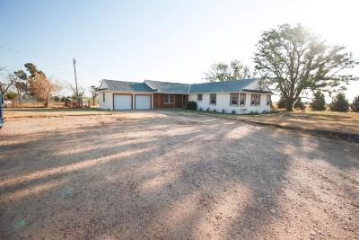 Slaton Single Family Home For Sale: 4223 E County Road 7900