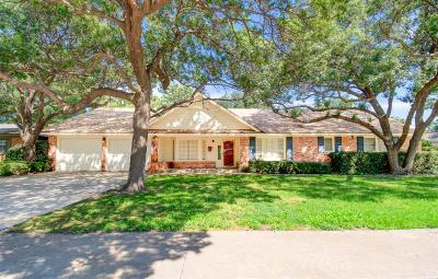 Lubbock Single Family Home For Sale: 3204 56th Street