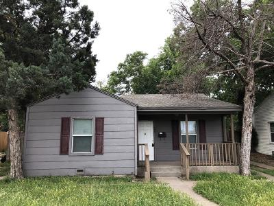 Single Family Home For Sale: 1609 27th Street