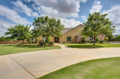 Lubbock Single Family Home Under Contract: 5819 Woodrow Road