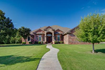 Lubbock Single Family Home For Sale: 6207 112th Street