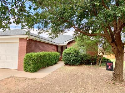 Lubbock Single Family Home For Sale: 8406 Uvalde Avenue