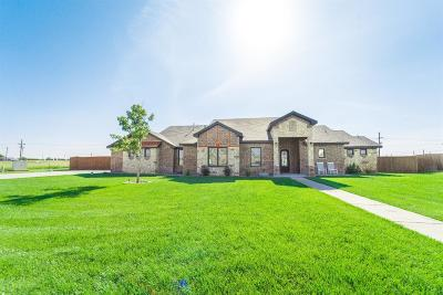 Lubbock Single Family Home Under Contract: 6401 County Road 1480