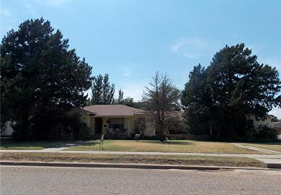 Abernathy Single Family Home Under Contract: 111 Ave L
