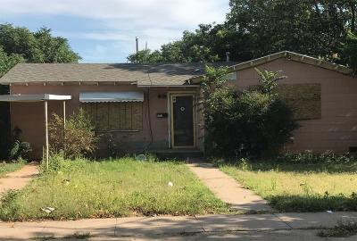Single Family Home For Sale: 1512 33rd Street