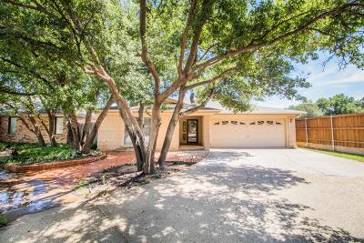 Lubbock Single Family Home For Sale: 7711 Dixon Avenue