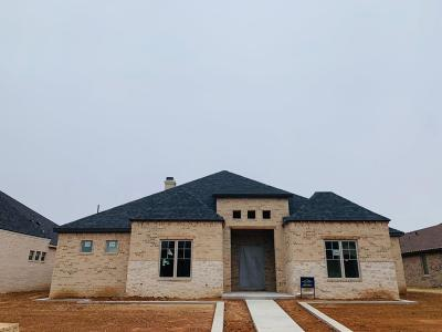 Lubbock Single Family Home For Sale: 3903 138th Street