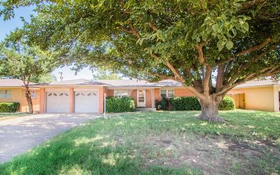 Slaton Single Family Home For Sale: 930 S 20th Street