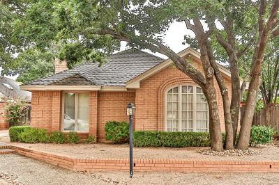 Lubbock Garden Home Under Contract: 109 Utica Avenue