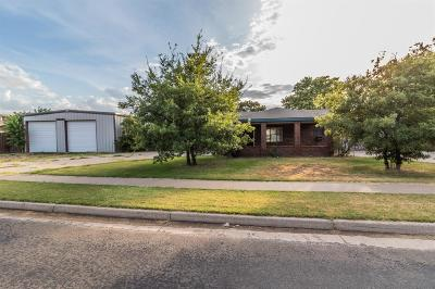 Lubbock Single Family Home For Sale: 8402 Fremont Avenue